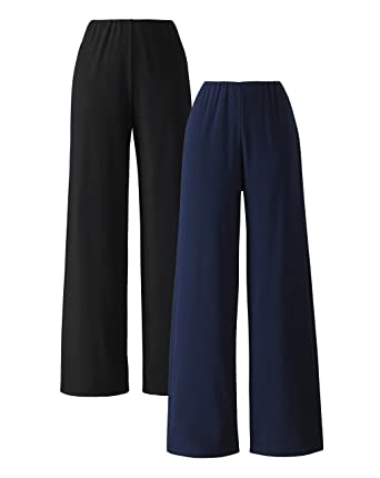 Womens Pack Of 2 Jersey Trousers JD Williams