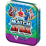 Match Attax EPL 15/16 Trading Card Collector Tin includes 50 Cards (Includes limited edition Bronze, Silver or Gold Card)