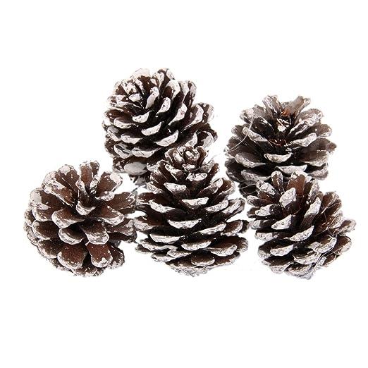 3 opinioni per Imballare 9pcs Pigne Bagattelle Di Natale Partito Albero Appeso Decorazioni