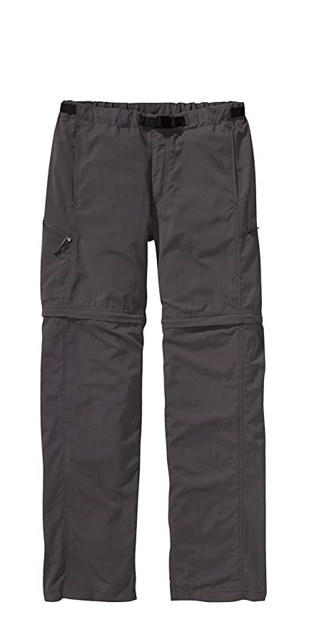 new style e664b ee7fb Patagonia Pantaloni Uomo GI III Zip-off, Grigio (forge grey ...