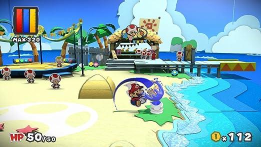 Paper Mario Color Splash Wii U Nintendo Wii U Amazonde Games