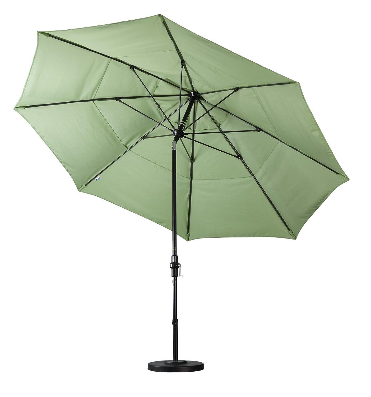Amazon California Umbrella 9 Round Aluminum Pole Fiberglass