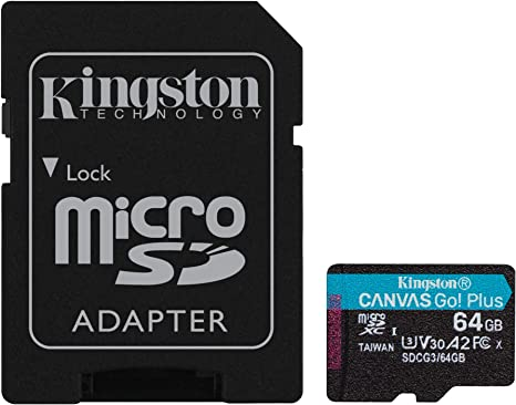 Professional Kingston 64GB for Samsung SM-T560 MicroSDXC Card Custom Verified by SanFlash. 80MBs Works with Kingston