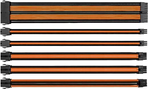 مجموعة كابل التزويد بالطاقة، وصلة بغلاف خارجي من ثيرمال تيك، عُلب، أسود أزرق (AC-035-CN1NAN-A1) AC-036-CN1NAN-A1
