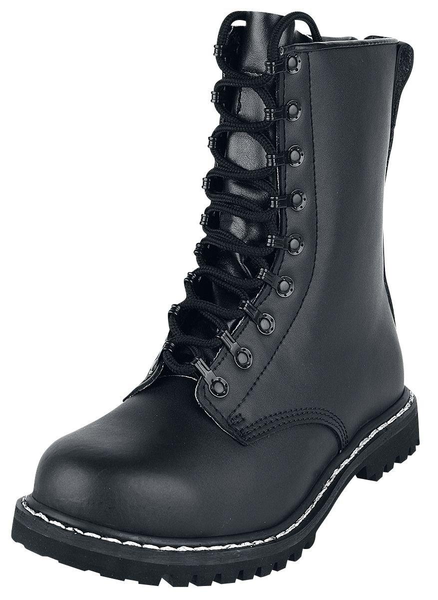 Brandit Herren Springerstiefel, Color:schwarz;Größe:49 49 EU|schwarz Zapatos de moda en línea Obtenga el mejor descuento de venta caliente-Descuento más grande