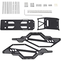 F Fityle Alloy Chassis Frame Body Kits Compatible for Axial SCX24 90081 RC Model Car Crawler Trcuk Spare Parts DIY…