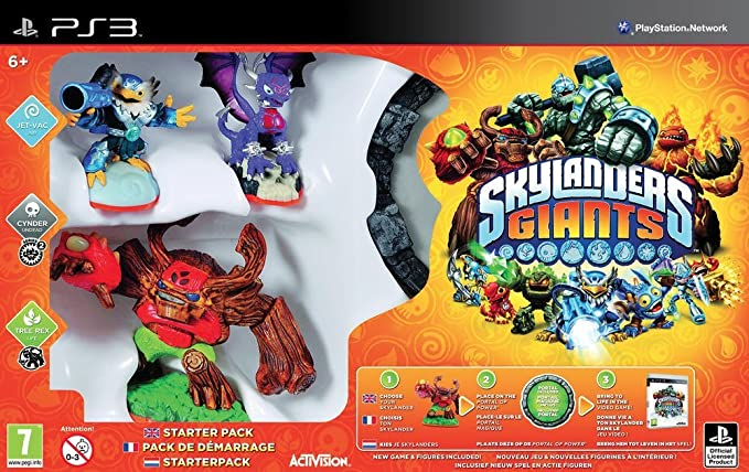 Skylanders spyro Giants-Lot de 6 géants-Voir Description Pour offre spéciale!
