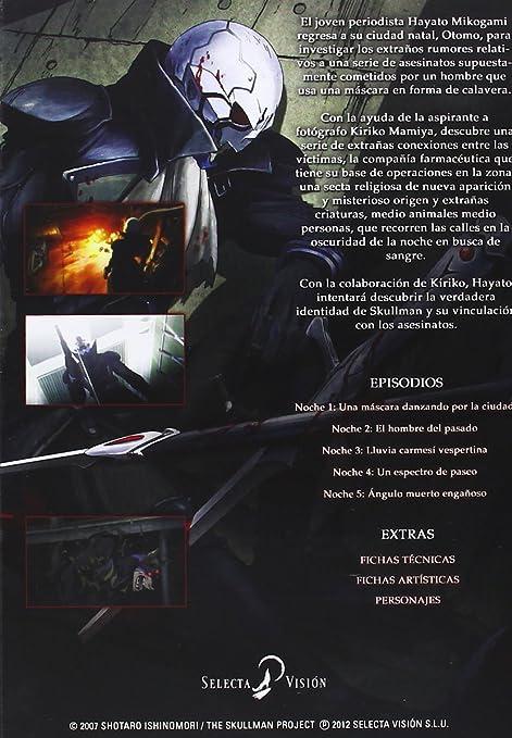 1158a468e81d1 The Skullman - Serie Completa  DVD   Amazon.es  Personajes Animados ...