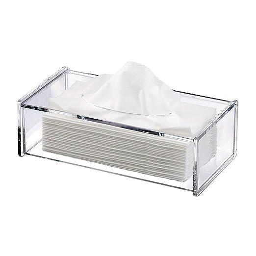 Discoball Cubierta de la caja de tejido de acrílico Soporte de ...
