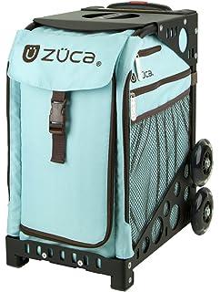 Zuca Anaconda Insert Bag /& Blue Frame with Flashing Wheels