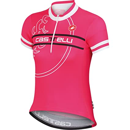 Castelli 2015 Segno Kid Children s Youth Short Sleeve Cycling Jersey -  A15076 (raspberry - e56cbcd84