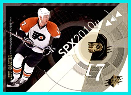 2010-11 SPx #71 Jeff Carter PHILADELPHIA FLYERS currently with STANLEY CUP PLAYOFFS LOS