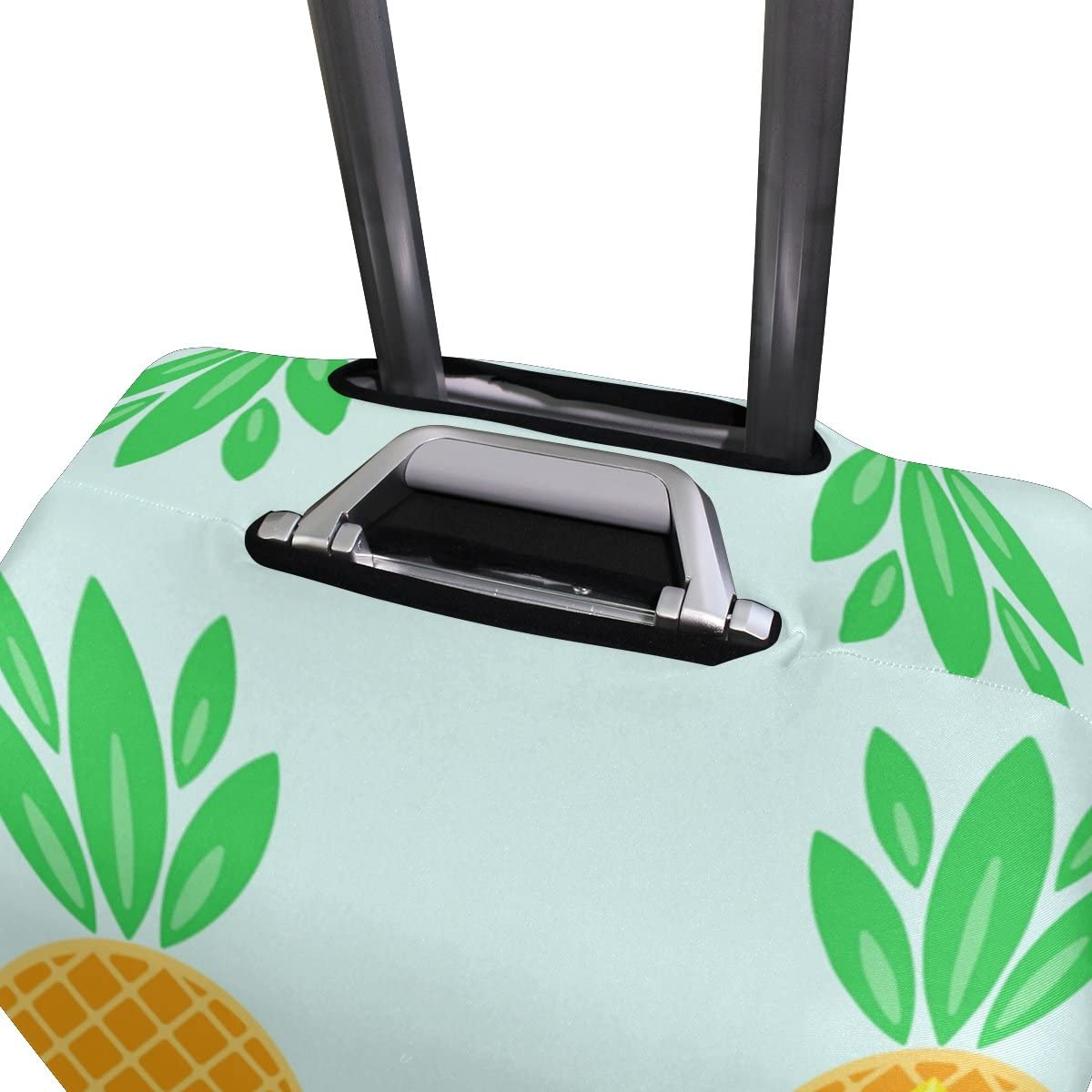 LEISISI Pineapple Luggage Cover Elastic Protector Fits XL 29-32 in Suitcase