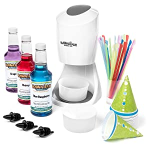 Shaved Ice Machine and Syrup Party Package by Hawaiian Shaved Ice