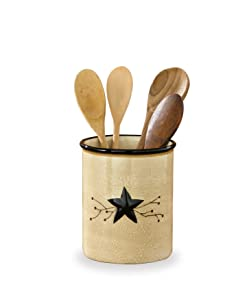 Park Designs Star Vine Utensil Crock