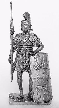 TIN HISTORY MINIATURE TIN FIGURES THE GALLIC WARRIOR OF THE 1 CENTURY AD 90MM R6