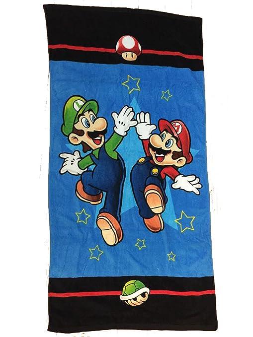 Nueva Super Mario toalla de baño infantil toalla de playa Mario de leska hamaty toalla