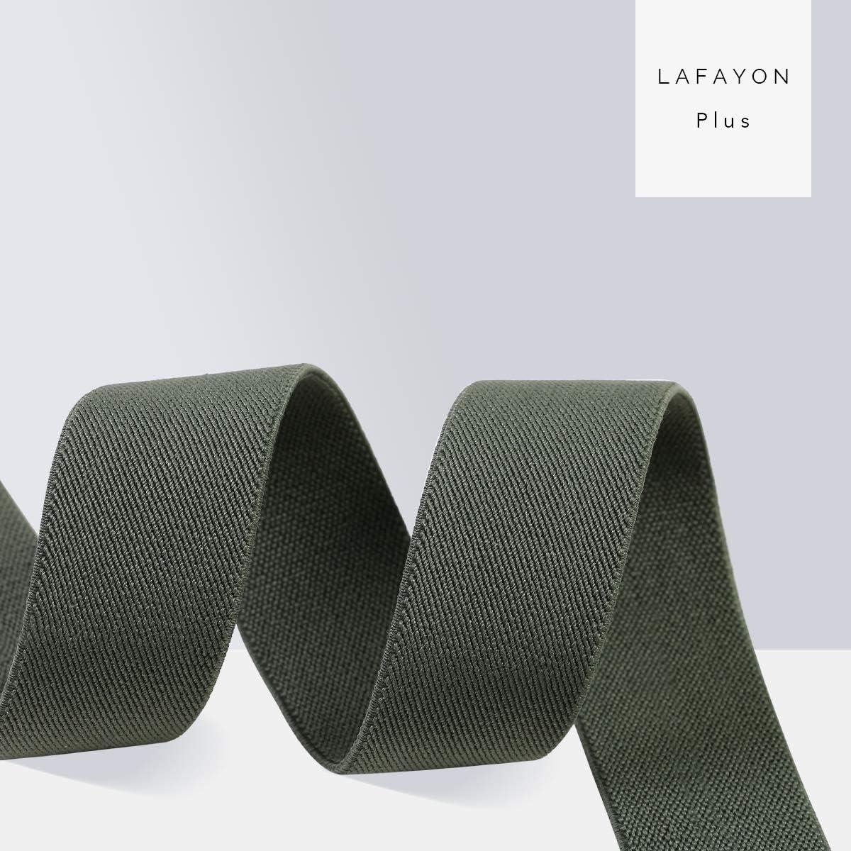 Lafayon Bretelle Uomo Bretelle Per Uomo 6 Fibbie Y Dietro a Righe Uomo Bretelle Durevoli Bretelle Regolabili Elastiche Clip Di Metallo Forte