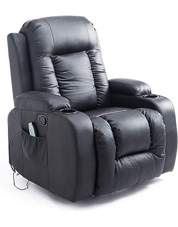 dea6db59ba6a HOMCOM Massagesessel Fernsehsessel Relaxsessel TV Sessel Wärmefunktion mit  Fernbedienung