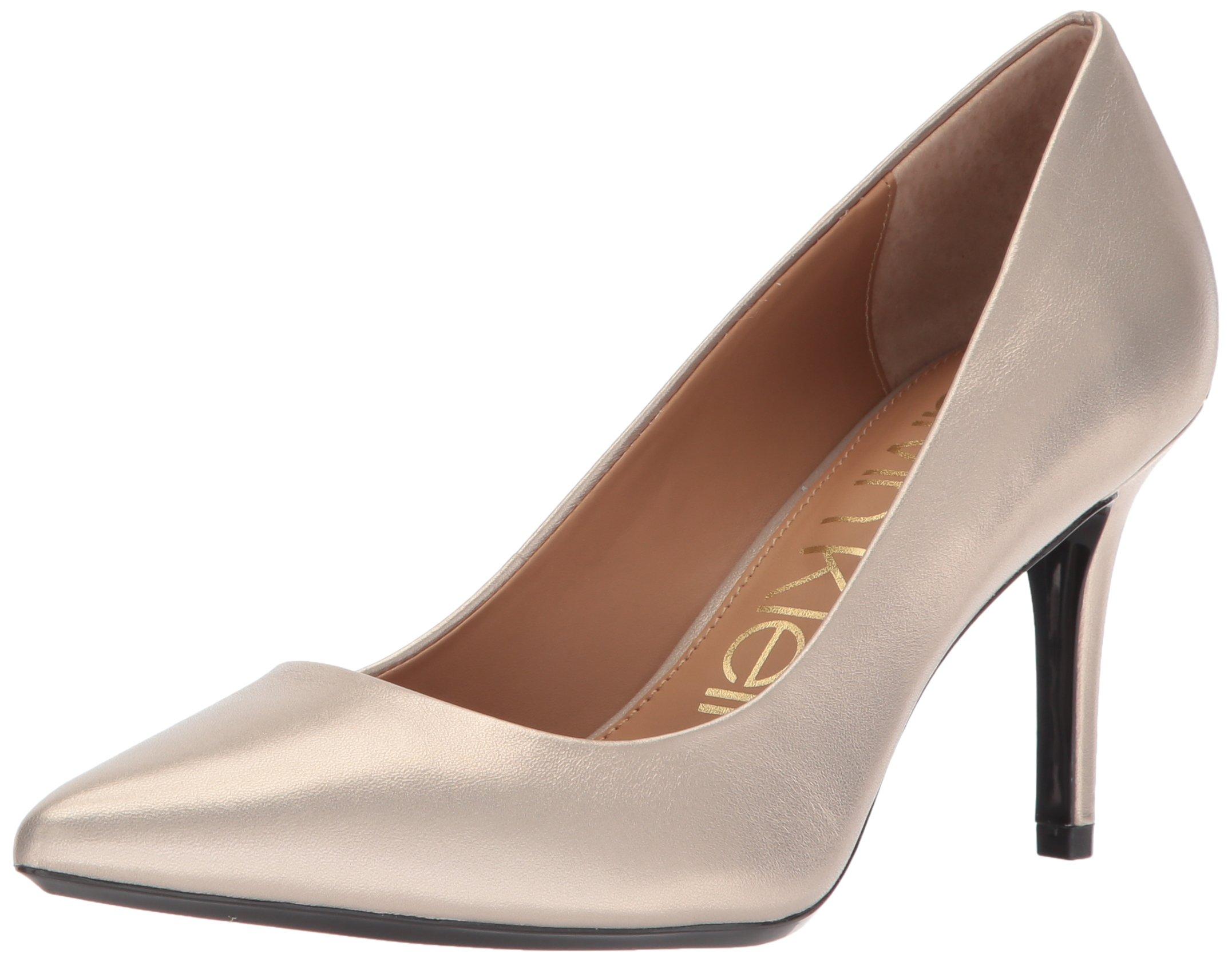 Calvin Klein Women's Gayle Pump, Blush Gold, 9.5 Medium US