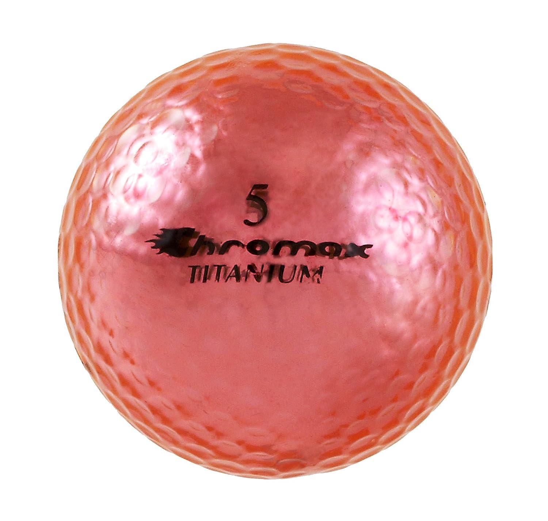Chromax 高い視認性 M1 Xゴルフボール、6個パックボール B00KE2JP8W ピンク