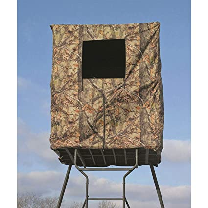 7fe866fbd51 Amazon.com   Guide Gear 2-Man Tower Hunting Blind   Sports   Outdoors