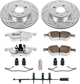 Power Stop K5718 Front and Rear One-Click Brake Kit
