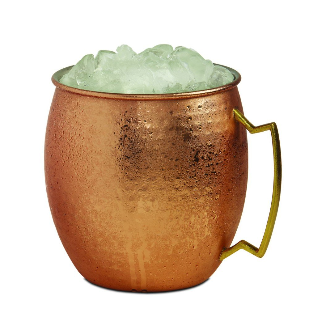 Brilliant - Moscow Mule (Giant Hammered Copper Ice Bucket Mug)