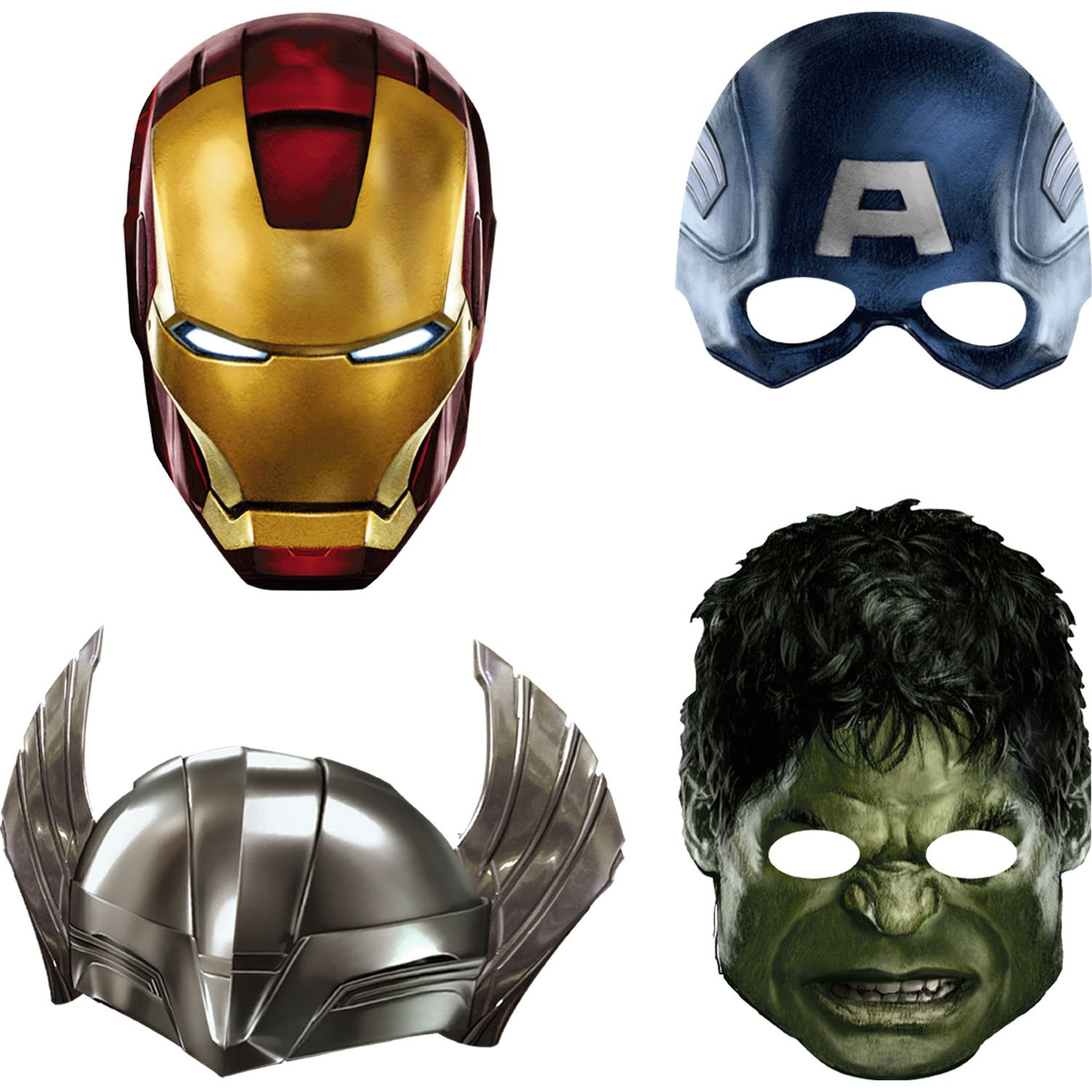 Image result for paper masks avengers
