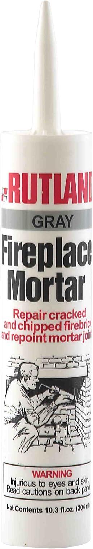 Rutland Fireplace Mortar Cartridge, 10.3-Ounce, Gray - 63G