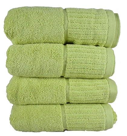 Conjunto de toallas absorbentes de colores, fin de serie, 100 % algodón