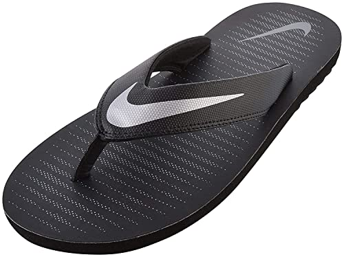 e14112b8b977ae Nike Men s Chroma Thong 5 Black Slippers (833808-016)  Buy Online at ...