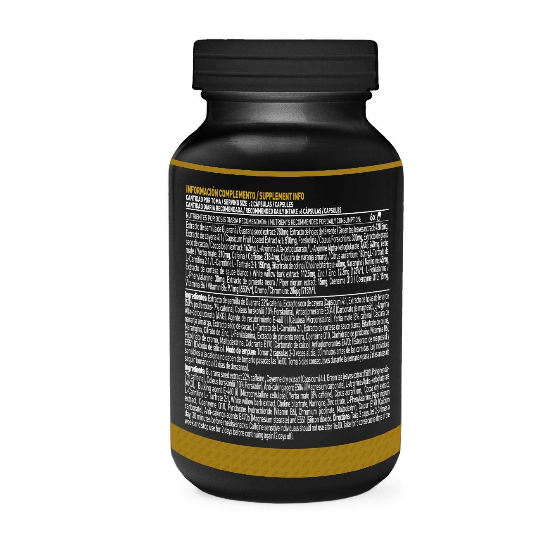 Evoburn Quemagrasas de HSN Sports - Activador Metabólico, Fat Burner - Acción Reductora de Grasas Multi-Fase, Inhibidor del apetito, con cafeína, té verde, ...