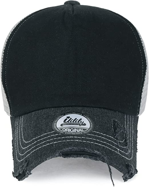 Vintage Plain Trucker Mesh Hat Snapback Blank Baseball Cap Hat SALE M3F6