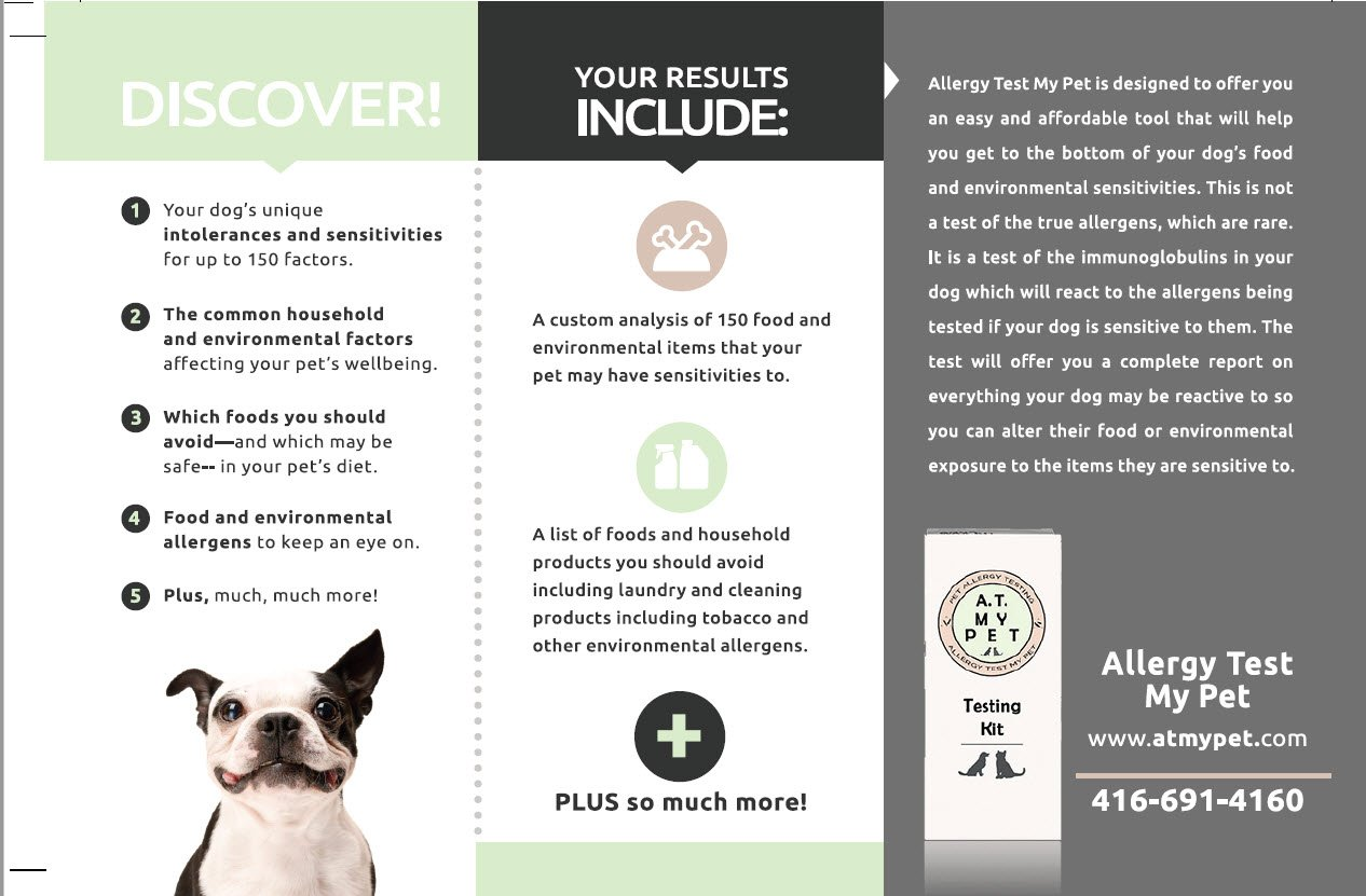 Canine Allergy Test Allergy Test My Pet by Canine Allergy Test