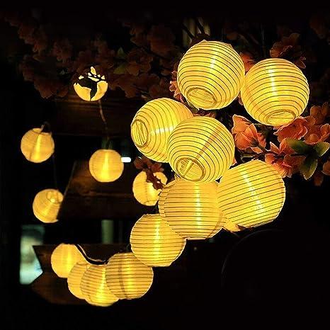 30 lampadine a LED ad energia solare per matrimoni da giardino all/'aperto IT