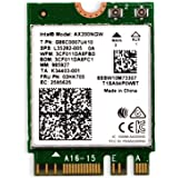 WiFi 6 AX200 WiFi Adapter for Windows 10 64bit Chrome OS and Linux Laptop or Desktop PCs-802.11AX 2.4GHz 574Mbps or 5GHz…