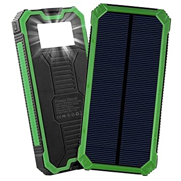 Cargador solar, banco de energía solar portátil Friengood ...