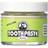 Uncle Harry's Fluoride Free Toothpaste - Anise (3 oz glass jar) …