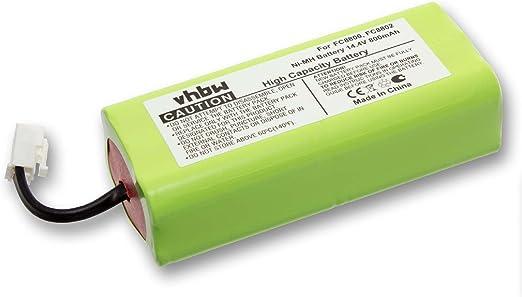 vhbw batería 800mAh (14.4V) para aspiradora Philips Easystar ...