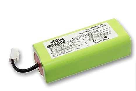 vhbw batería 800mAh (14.4V) para aspiradora Philips Easystar FC8800, FC8800/01