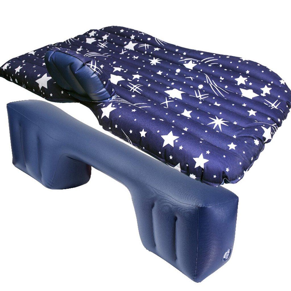 車の後列車のベッドの車のベッドの睡眠パッドの旅行のエアベッド B07F8QPZ1Z Blue Blue