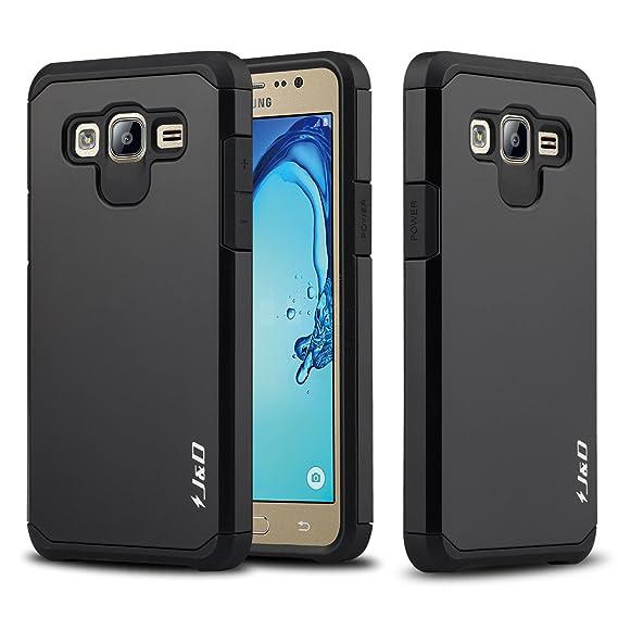 Galaxy On5 Case JD Dual Layer Heavy Duty Protection Hybrid Shock