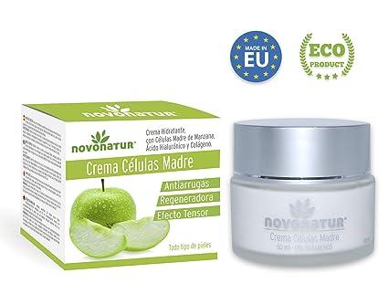 Crema facial antiarrugas de Colágeno hidrolizado, Células Madre de Manzana y Citoquinas, Ácido Hialurónico