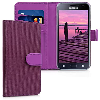 Amazon.com: kwmobile - Funda tipo cartera para Samsung ...
