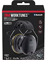 3M Worktunes Connect Bluetooth Hearing Protection with Call Integration, Noise Cancelling, NRR 24 dB (90543)