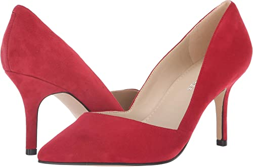 26be1ed944d2 Image Unavailable. Image not available for. Color  Marc Fisher LTD Women s  Tuscany Luxe Red New Silky Suede ...