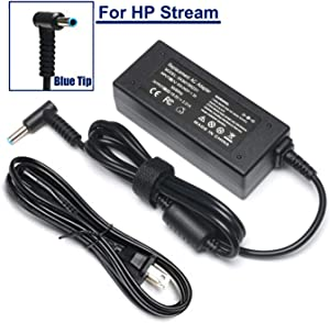 45W Adapter Charger/Power Supply for HP Stream 11 13 14 X360 Laptop PC 11-ah117wm 11-ah131nr 11-ak0020nr 11-ak1061ms 14-ds0040nr 14-ax010wm ax020wm ax030wm ax040wm 14-cb161wm 14-cb163wm cb164wm