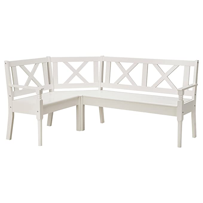 Ikea Frittorp Banc D Angle Blanc Amazon Fr Cuisine Maison
