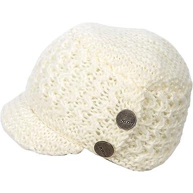 11c74e9b3e346 KLIM Adult Peak Beanie Hat One Size White at Amazon Men s Clothing ...